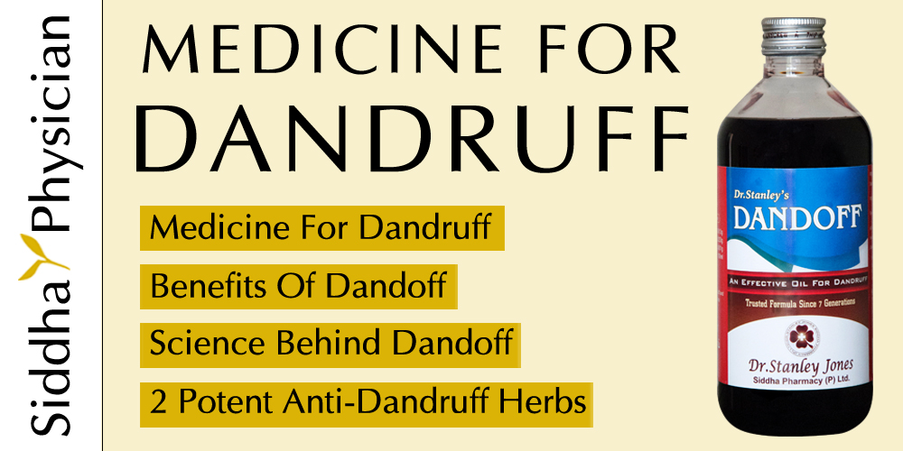 what's the best dandruff cure